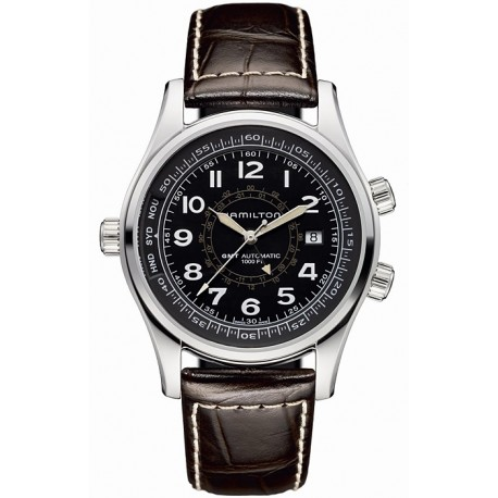 Hamilton Khaki Navy UTC Automatic Mens Watch H77505535