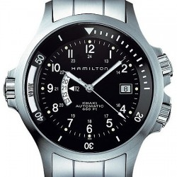 Hamilton Khaki Navy GMT Auto Mens Watch H77615133