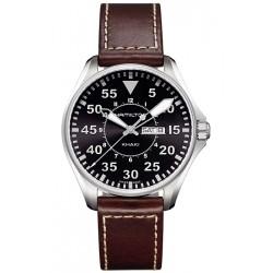 Hamilton Khaki Aviation Pilot Quartz Mens Watch H64611535
