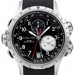 Hamilton Khaki ETO Chrono Quartz Mens Watch H77612333