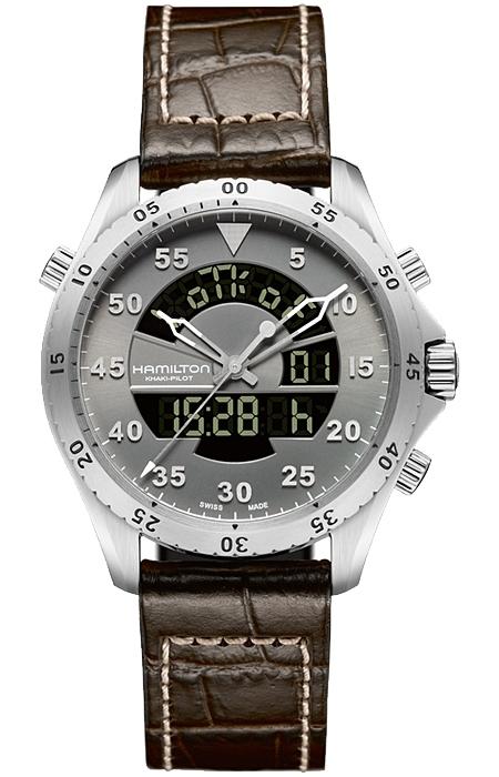 Hamilton Khaki Aviation Flight Timer Watch H64514551