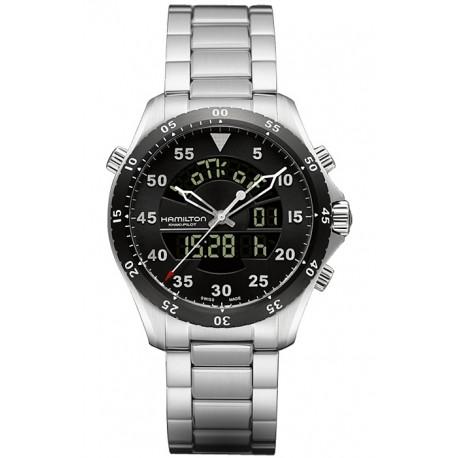 Hamilton Khaki Aviation Flight Timer Watch H64554131