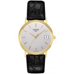 Tissot Goldrun 18K Yellow Gold Mens Watch T71.3.401.31