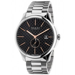 Gucci G-Timeless Automatic Steel Bracelet Mens Watch YA126312