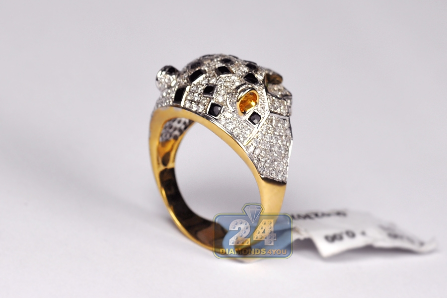 gold c tiger a rings e com ring vulcan zodiac jewelry printing