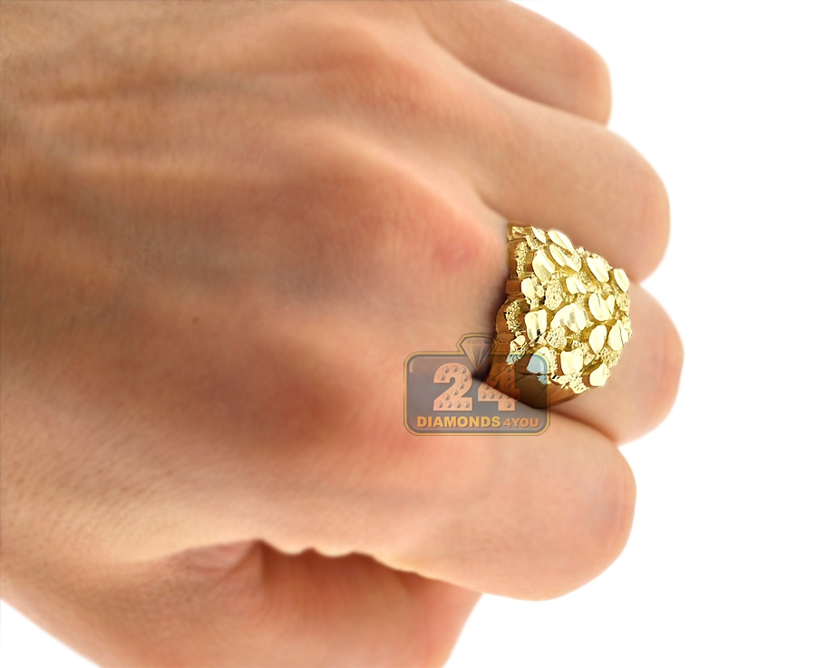 Gold Nugget Ring Designs