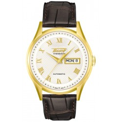 Tissot Visodate 18K Yellow Gold Mens Watch T910.430.16.033.00