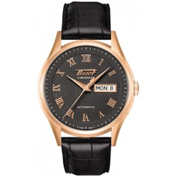 Tissot Visodate 18K Rose Gold Mens Watch T910.430.76.083.00