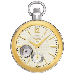 Tissot Mechanical Skeleton Pocket Watch T853.405.29.267.00