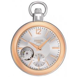 Tissot Mechanical Skeleton Pocket Watch T853.405.29.037.01