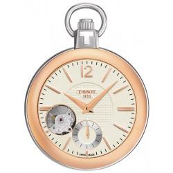 Tissot Mechanical Skeleton Pocket Watch T853.405.29.267.01
