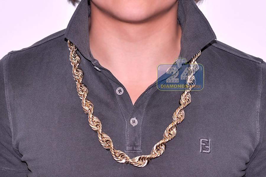 Diamond Rope Necklace