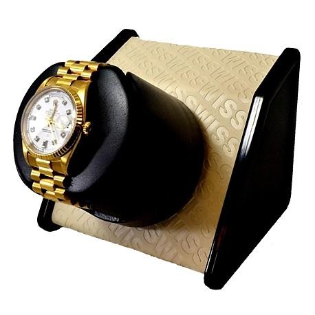 Single Watch Winder W05072 Orbita Sparta Open 1 Cream Swiss