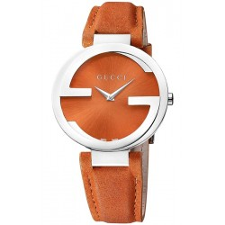 Gucci Interlocking Large Sized Orange Womens Watch YA133316