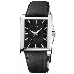 Gucci G-Timeless Rectangular Mens Watch YA138404