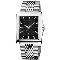 Gucci G-Timeless Rectangular Mens Watch YA138401