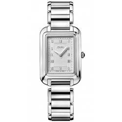 F701036000 Fendi Classico Medium Rectangular Steel Watch 25mm
