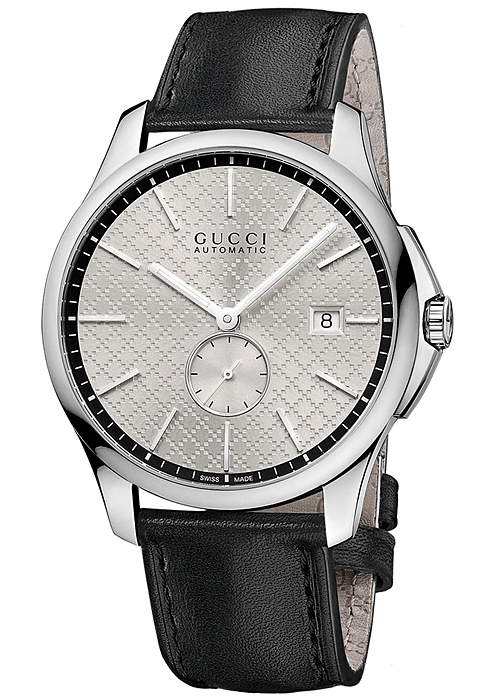 0839548daeb Gucci G-Timeless Automatic Slim Silver Dial Mens Watch YA126313