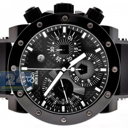 Jacob & Co Epic 2 Automatic Black Carbon Mens Watch E2C