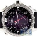 Jacob & Co Five Time Zone Diamond Bezel 40 mm Watch JC-M2
