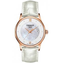 Tissot Dream 18K Rose Gold Womens Watch T914.210.76.116.00