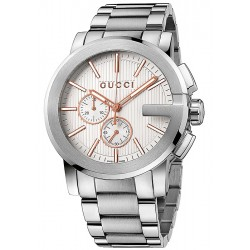 Gucci G-Chrono Steel Mens Watch YA101201
