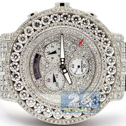 Joe Rodeo Master Piece 52.00 Carats Diamond Mens Watch