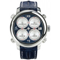 Jacob & Co H24 Automatic Blue Mens Watch H24SSBL