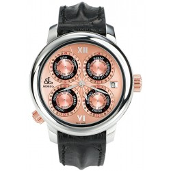 Jacob & Co GMT World Time Automatic Watch GMT-7SSR