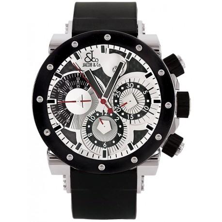 Jacob & Co Epic 2 Automatic Steel Mens Watch E1R