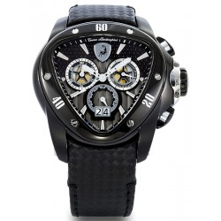 Tonino Lamborghini Spyder 1100 Mens All Black Watch 1104