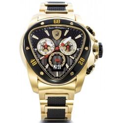 Tonino Lamborghini Spyder 1100 Mens Gold Steel Watch 1119