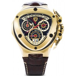 Tonino Lamborghini Spyder 3000 Mens Gold Steel Watch 3011