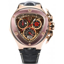 Tonino Lamborghini Spyder 3000 Mens Gold Steel Watch 3017