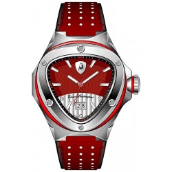 Tonino Lamborghini Spyder 3000 Mens Red Dial Band Watch 3026