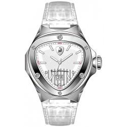 Tonino Lamborghini Spyder 3000 Mens Silver Dial Watch 3030