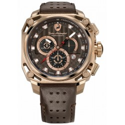 Tonino Lamborghini 4 Screws Gold PVD Steel Mens Watch 4860