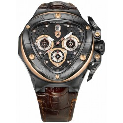 Tonino Lamborghini Spyder 8950 Automatic Black PVD Watch 8956