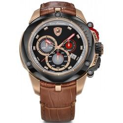 Tonino Lamborghini Shield 7800 Mens Rose Gold PVD Watch 7802