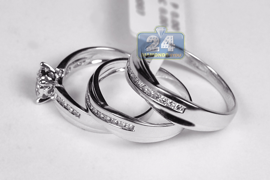 carat with of products three wedding bridal artemer rings diamond set
