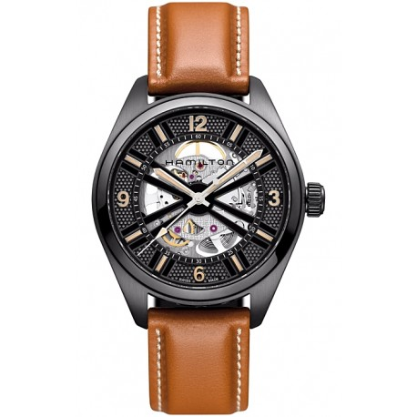 Hamilton Khaki Field Skeleton Auto Mens Watch H72585535