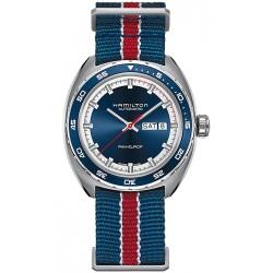 Hamilton Pan Europ Auto Blue Mens Watch H35405741