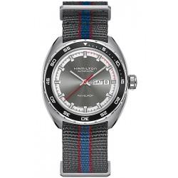 Hamilton Pan Europ Auto Gray Mens Watch H35415781