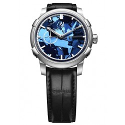 Romain Jerome 1969 Heavy Metal Blue Silicium Watch RJ.M.AU.020.02