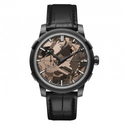 Romain Jerome 1969 Heavy Metal Brown Silicium Watch RJ.M.AU.020.06