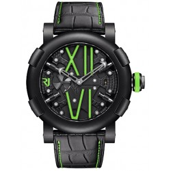 Romain Jerome Steampunk Auto Green Watch RJ.T.AU.SP.005.03
