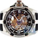 Aqua Master Mechanical 1.25 ct Diamond Mens Watch