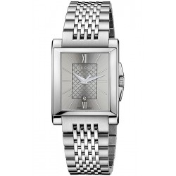 Gucci G-Timeless Rectangle Steel Bracelet Womens Watch YA138501