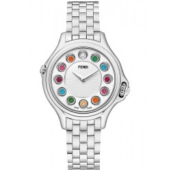 F107024000T0 Fendi Crazy Carats White Dial Bracelet Watch 33mm