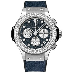 Hublot Big Bang Glossy Jeans Diamond Watch 341.SX.2710.NR.1104.JEANS14
